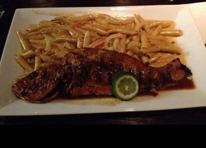 Red Snapper and Rasta Pasta