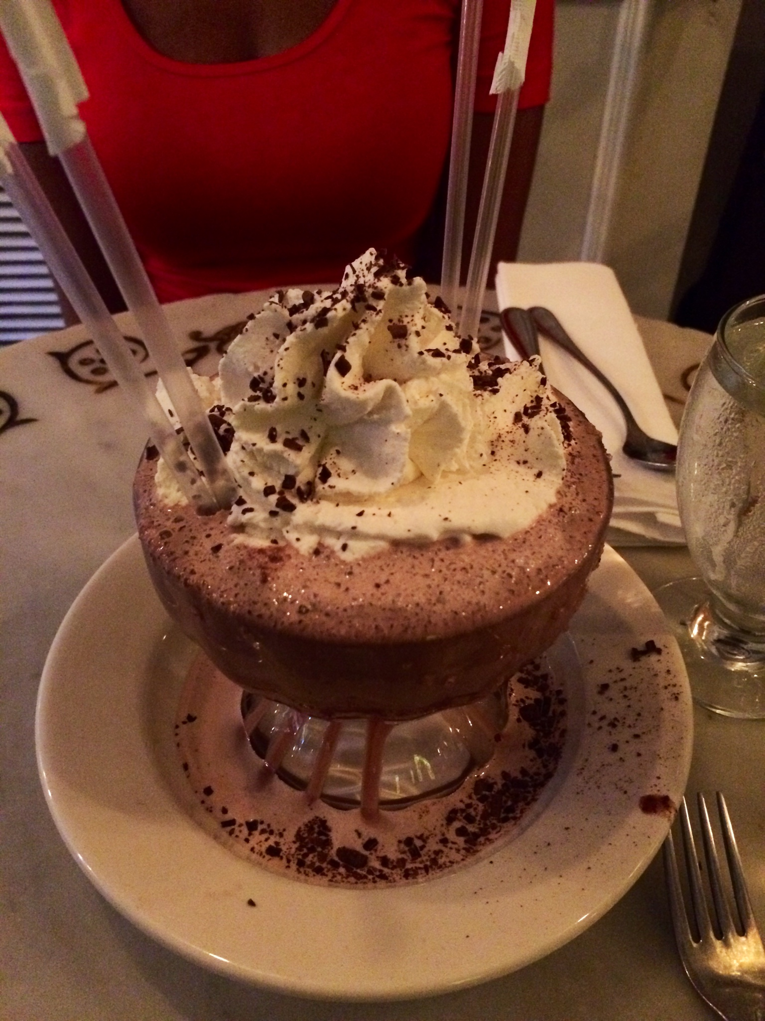 Frozen Hot Chocolate at Serendipity 3! –